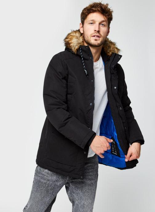 Vêtements Jack & Jones Jjsky Parka Jacket Noir vue détail/paire