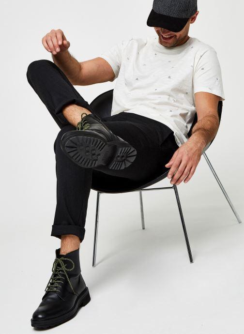Vêtements Jack & Jones Jortrip Aop Tee Ss Crew Neck Blanc vue bas / vue portée sac