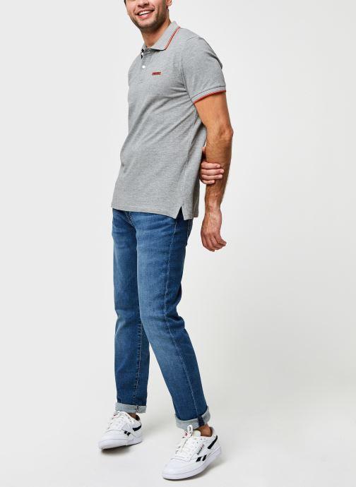Vêtements Jack & Jones Jorlondon Polo Ss Gris vue bas / vue portée sac