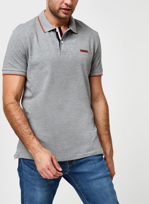 Vêtements Jack & Jones Jorlondon Polo Ss Gris vue détail/paire