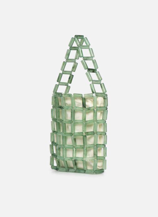 Handtaschen Moune Paris Grinie grün schuhe getragen