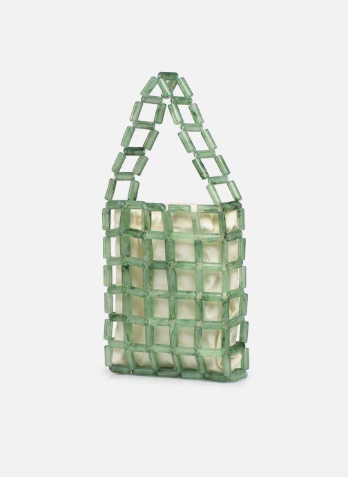 Handtaschen Moune Paris Grinie grün ansicht von rechts