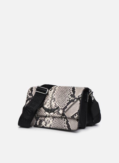 Sacs à main Zadig & Voltaire Lolita Wild Noir vue portées chaussures