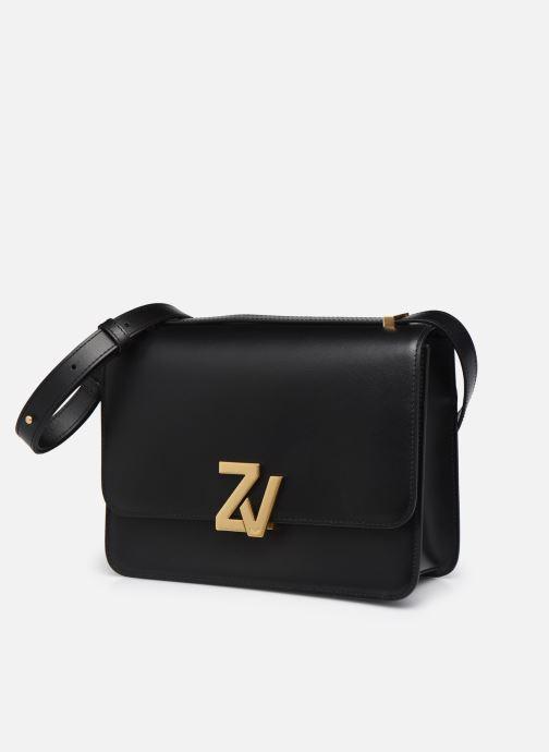 Sacs à main Zadig & Voltaire ZV INITIALE CIT Noir vue portées chaussures