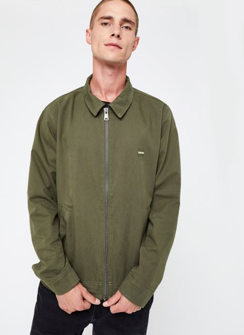Vêtements Levi's Haight Harrington Jacket Vert vue droite