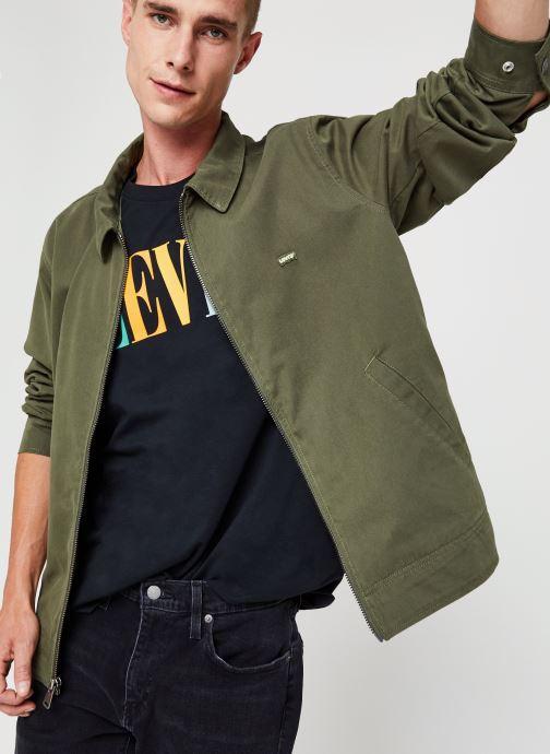 Kleding Levi's Haight Harrington Jacket Groen detail