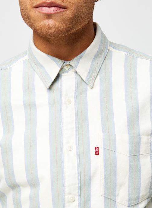 Vêtements Levi's Sunset 1 Pocket Standard Vert vue face