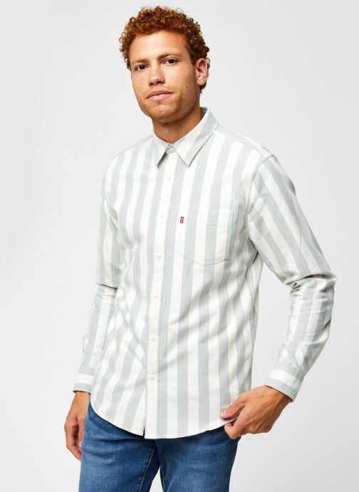 Vêtements Levi's Sunset 1 Pocket Standard Vert vue droite