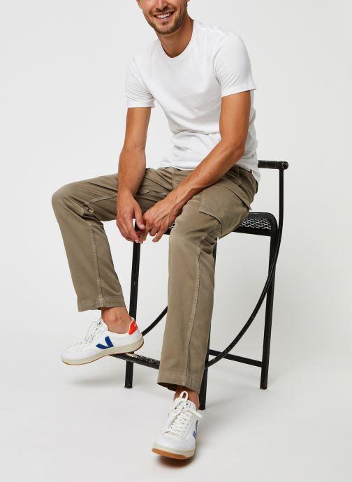 Vêtements Levi's Slim 2 Pack Crewneck 1 Blanc vue bas / vue portée sac