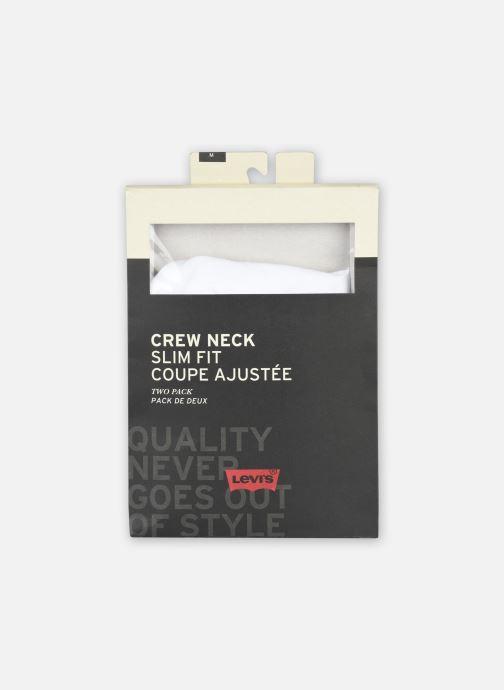 Vêtements Levi's Slim 2 Pack Crewneck 1 Blanc vue haut