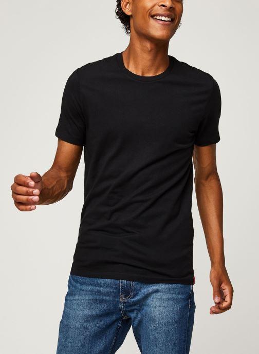 Vêtements Levi's Slim 2 Pack Crewneck 1 Noir vue droite