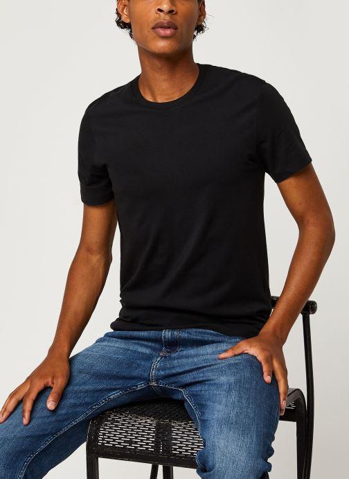 Vêtements Levi's Slim 2 Pack Crewneck 1 Noir vue détail/paire
