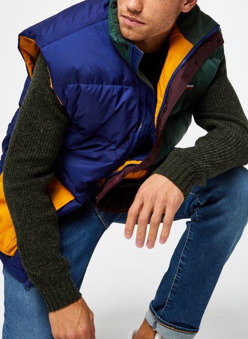Vêtements Levi's Stay Loose Filmore Vest Multicolore vue détail/paire