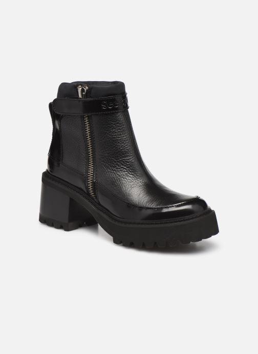 Boots en enkellaarsjes See by Chloé Hayden Ankle Boot Zwart detail