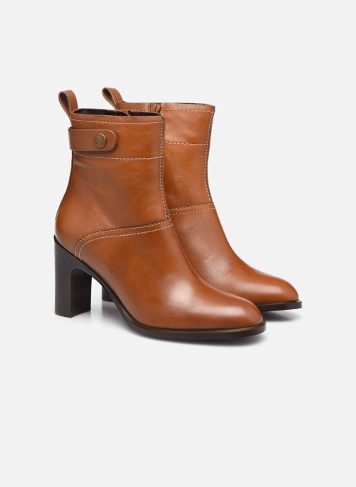 Bottines et boots See by Chloé Annia Ankle Boot Marron vue 3/4