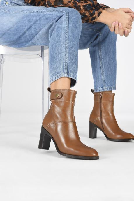 Bottines et boots See by Chloé Annia Ankle Boot Marron vue bas / vue portée sac