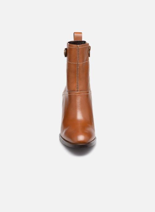 Bottines et boots See by Chloé Annia Ankle Boot Marron vue portées chaussures
