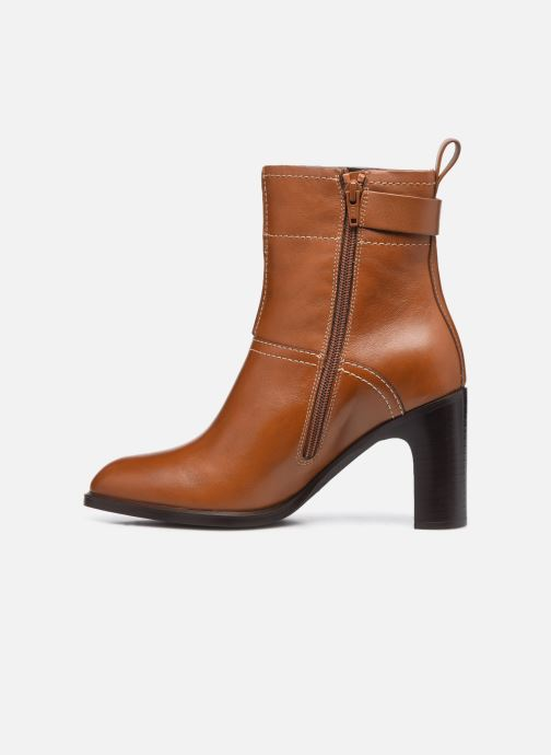 Bottines et boots See by Chloé Annia Ankle Boot Marron vue face
