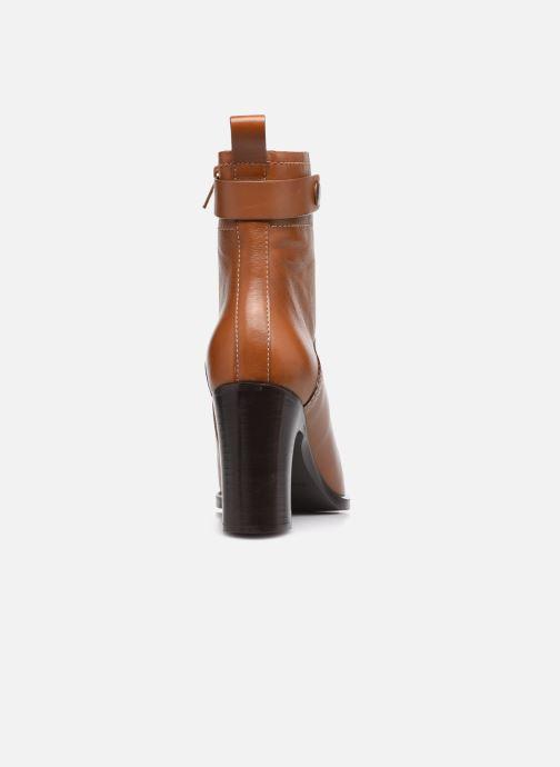 Bottines et boots See by Chloé Annia Ankle Boot Marron vue droite