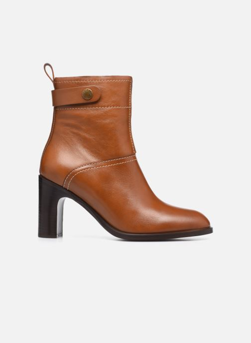 Bottines et boots See by Chloé Annia Ankle Boot Marron vue derrière