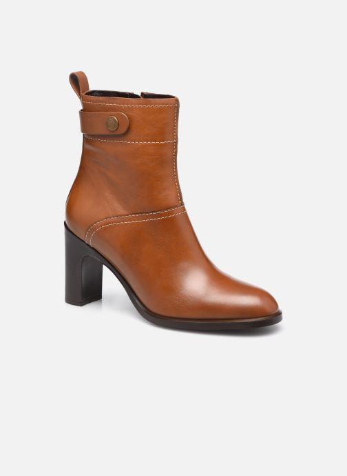 Bottines et boots See by Chloé Annia Ankle Boot Marron vue détail/paire