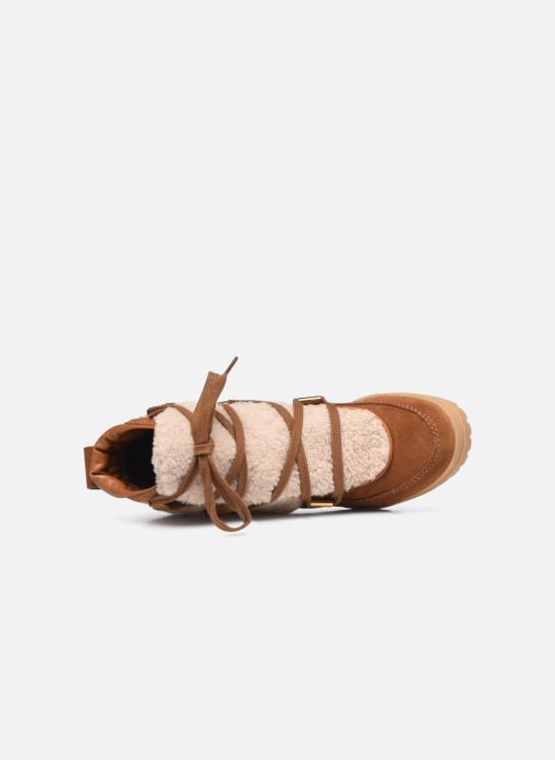 Stivaletti e tronchetti See by Chloé Karla Ankle Boot Marrone immagine sinistra