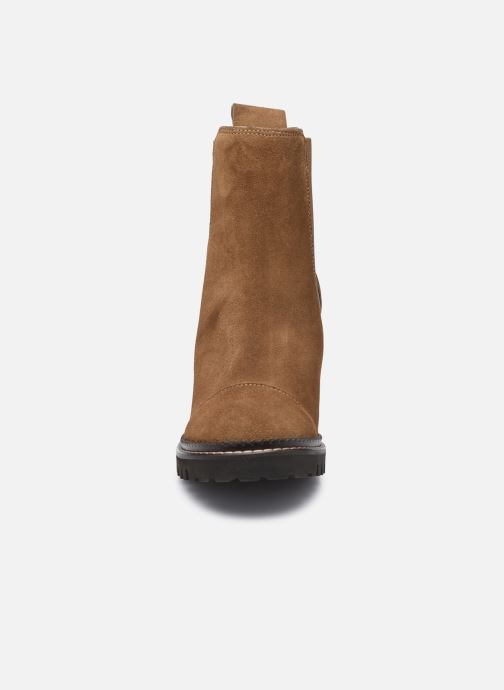 Stiefeletten & Boots See by Chloé Mallory Ankle Boot braun schuhe getragen