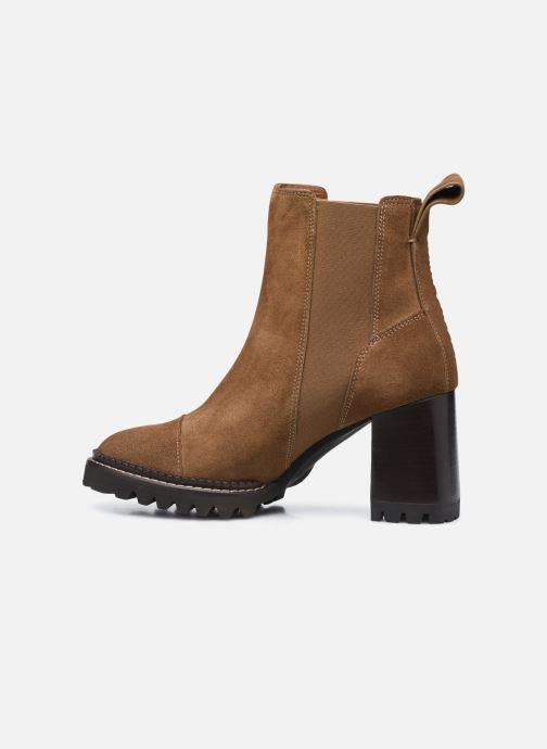 Stiefeletten & Boots See by Chloé Mallory Ankle Boot braun ansicht von vorne