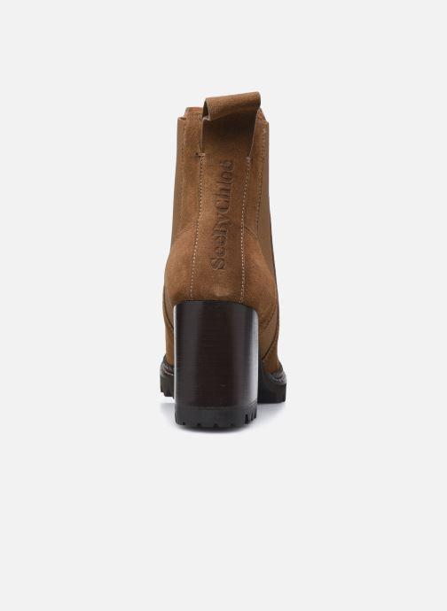 Stiefeletten & Boots See by Chloé Mallory Ankle Boot braun ansicht von rechts