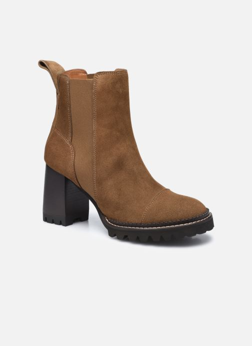 Stiefeletten & Boots See by Chloé Mallory Ankle Boot braun detaillierte ansicht/modell