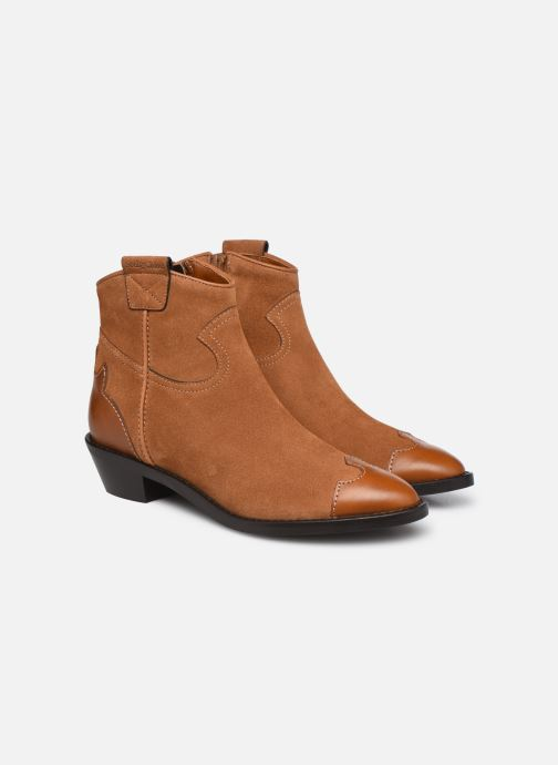 Botines  See by Chloé Affie Ankle Boot Marrón vista 3/4
