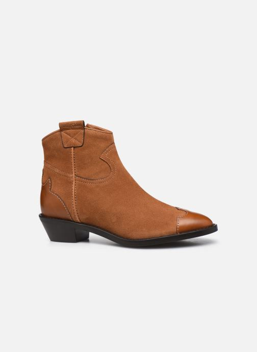 Botines  See by Chloé Affie Ankle Boot Marrón vistra trasera
