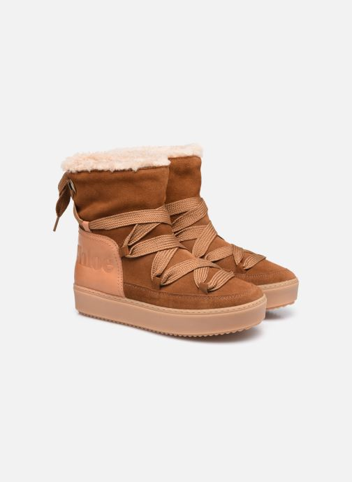 Bottines et boots See by Chloé Charlee Ankle Boot Marron vue 3/4
