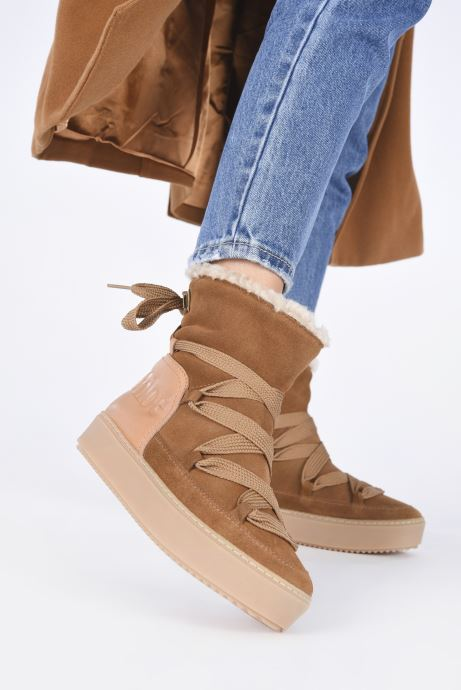 Bottines et boots See by Chloé Charlee Ankle Boot Marron vue bas / vue portée sac