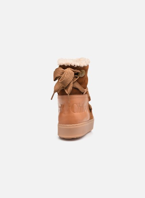Botines  See by Chloé Charlee Ankle Boot Marrón vista lateral derecha