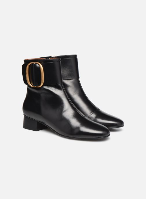 Botines  See by Chloé Hopper Ankle Boot Negro vista 3/4