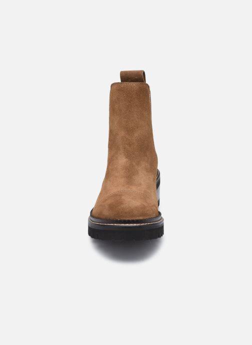 Bottines et boots See by Chloé Mallory Low Boot Marron vue portées chaussures
