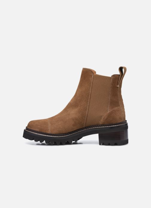 Bottines et boots See by Chloé Mallory Low Boot Marron vue face