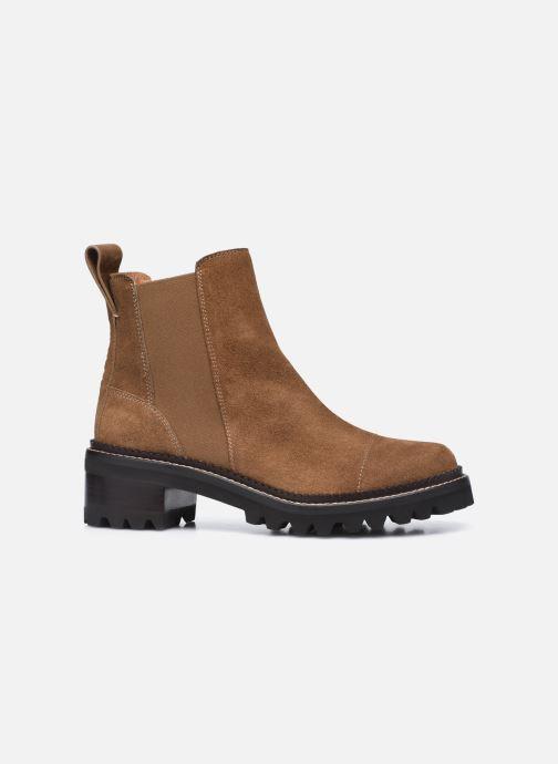 Bottines et boots See by Chloé Mallory Low Boot Marron vue derrière