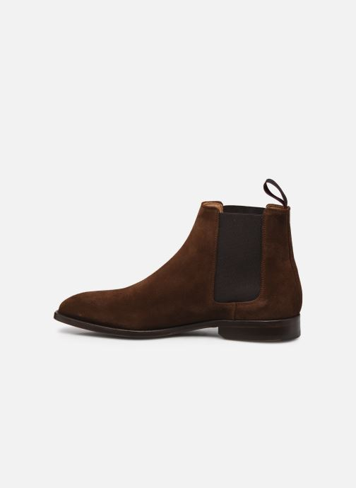 Boots en enkellaarsjes PS Paul Smith Gerald Suede Bruin voorkant