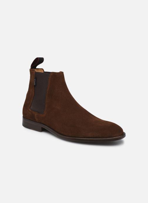 Boots en enkellaarsjes PS Paul Smith Gerald Suede Bruin detail