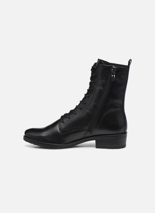 Bottines et boots Caprice Florida Noir vue face