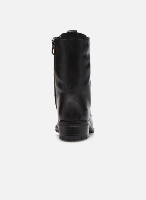 Bottines et boots Caprice Florida Noir vue droite