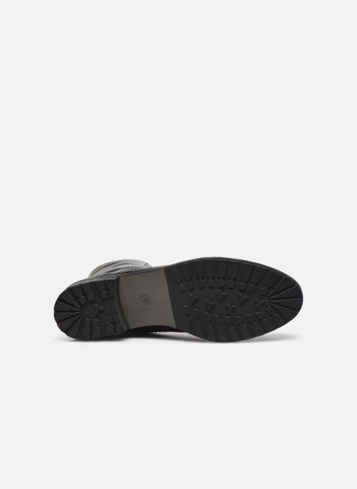 Bottines et boots Caprice Florida Noir vue haut