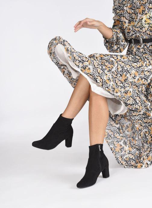Bottines et boots Caprice Anaham Noir vue bas / vue portée sac