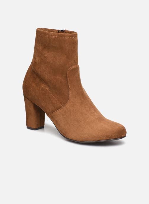 Boots en enkellaarsjes Caprice Anaham Bruin detail