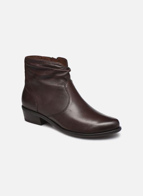 Bottines et boots Caprice Milwaukee Marron vue détail/paire