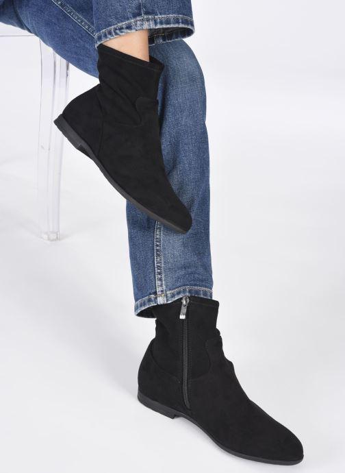 Bottines et boots Caprice Molokai Noir vue bas / vue portée sac