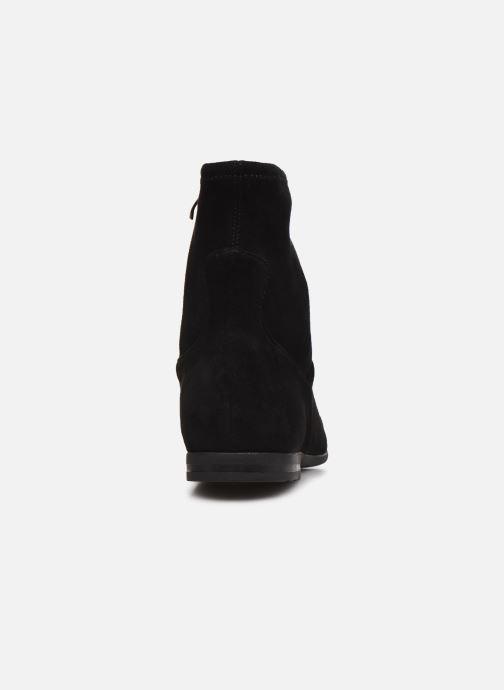 Bottines et boots Caprice Molokai Noir vue droite