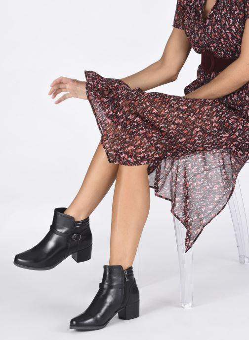 Stiefeletten & Boots Caprice Orlanda schwarz ansicht von unten / tasche getragen